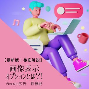 【最新版!徹底解説】Google広告 新機能「画像表示オプション」とは?!
